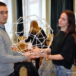 Foltvarrás, GeoGebra, 4Dframe és Zometool: nagy sikerrel zárult az újszászi SZMSZC Rózsa Imre Középiskola és az ÉlményMűhely együttműködése
