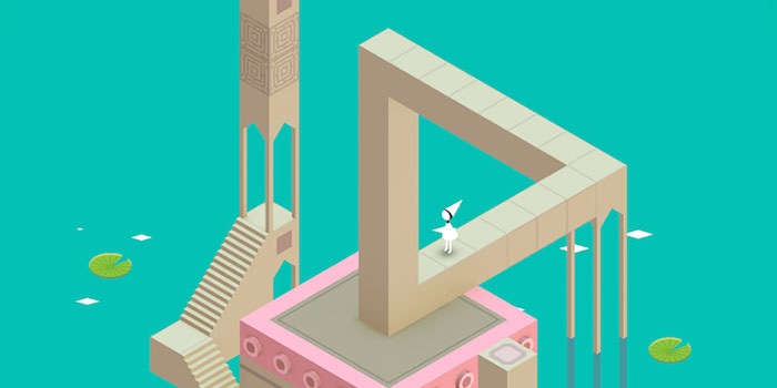 A Reutersvärd-Penrose háromszög a Monument Valley című videojátékban.