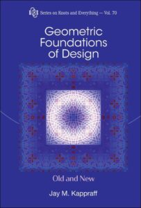 Új könyv! Jay Kappraff:Geometric Foundations of Design