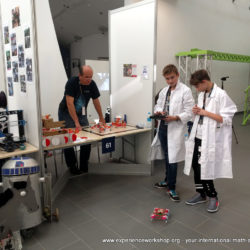 Experience Workshop's 4Dframe Re-Bots are debuting on Europe's largest STEM education fair, Science on Stage in 2017
