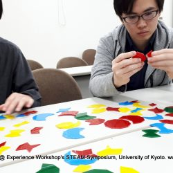 Haresh Lalvani's Pentiles successfully contributed to Experience Workshop's STEAM Symposium at Kyoto University, Japan