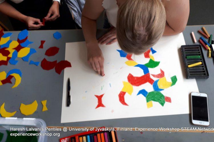 Leendő finn tanárok ismerkedtek meg Haresh Lalvani Pentiles készletével