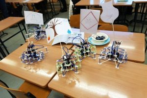 Robotics and topology in Ulvila with