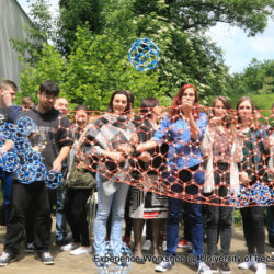 Experience Workshop STEAM Festival for 300 high school students at Faculty of Engineering and IT of Pécs University, Hungary