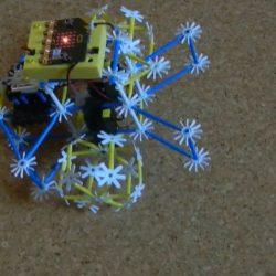 ÉlményMűhely REBOT-4DFrame-Micro:bit-robot