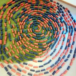 Preschool experiment with 4D Frame soft blocks
