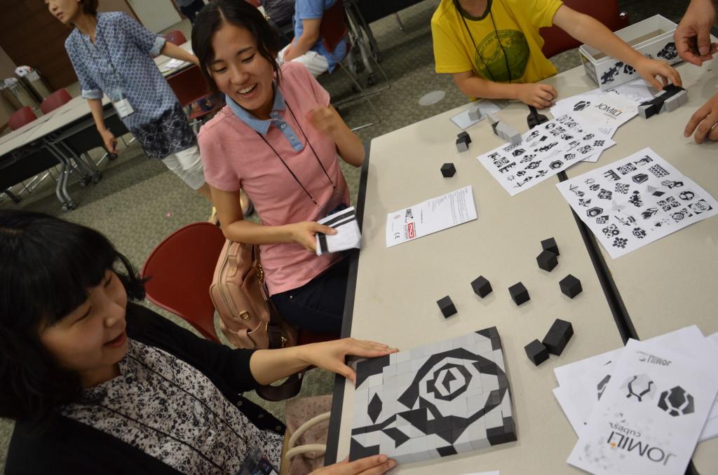 Jomili ÉlményMűhely a koreai Bridges Világkonferencián 2014 nyarán