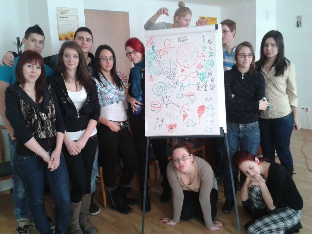 Zsuzsa Hajós' MATHeatre workshop
