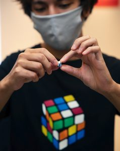 DOUBLE VIDEO PREMIER: Rubik's Cube anniversary at the Tokyo Science Agora