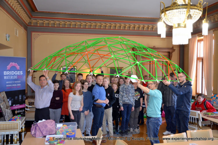 Experience Workshop's STEAM Inspiration Day in Kuopio, Finland