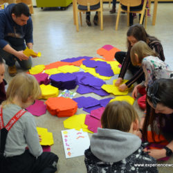 Experience Workshop celebrating Jyväskylä's birthday with a STEAM-party