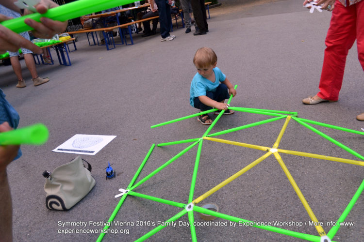 Symmetry Festival 2016's Family Day, coordinated by Experience Workshop