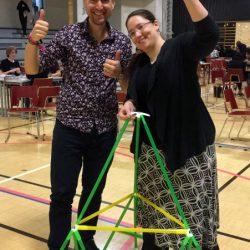 Maths Festival in Helsinki's Maunula school with Experience Workshop