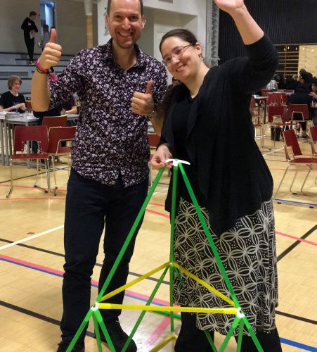 Maths Festival in Helsinki's Maunula school with Experience Workshop