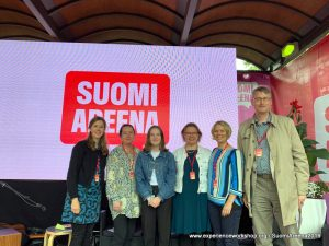 A finn ÉlményMűhely a legnagyobb nyári médiaesemény, a SuomiAreena vendége