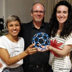 Lavicza Zsolt STEAM-oktatás előadása a La Plata Egyetemen Argentinában