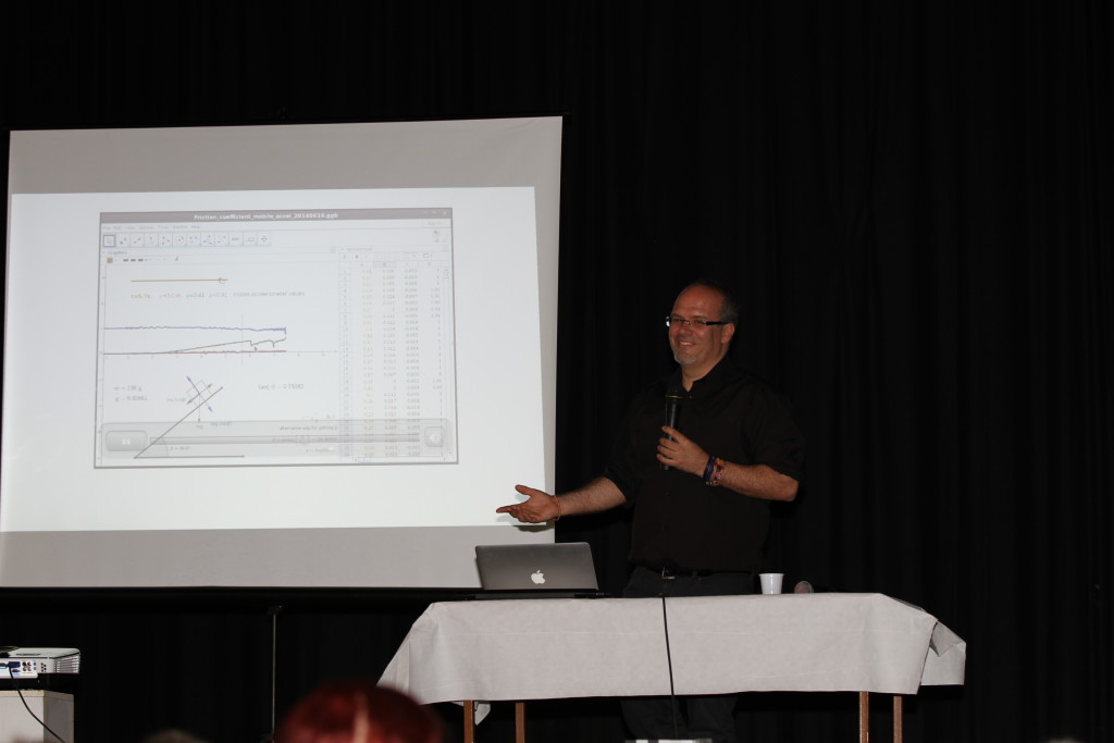 Lavicza Zsolt előadása a GeoMaTech projektről