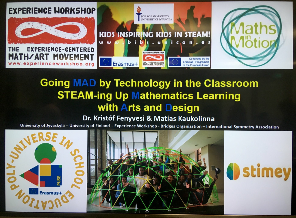 "Educate to Innovate"" ERASMUS+ STEAM training for"