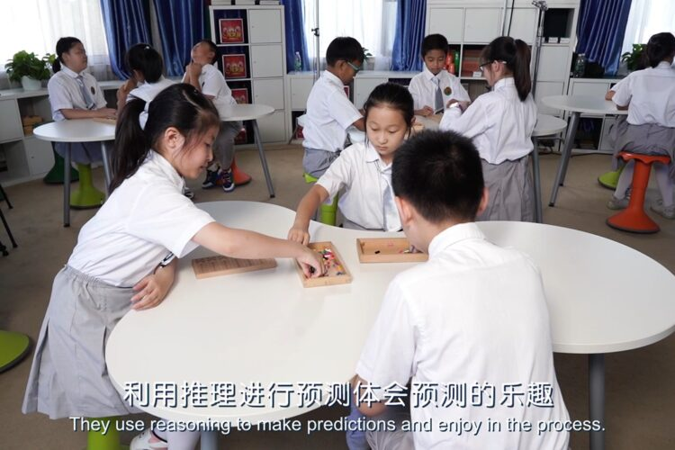 Experience Workshop's collaboration with the Training Center of the National Institute of Education Sciences in China