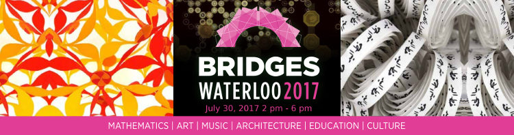 Propose a Math-Art Activity to Bridges 2017 Waterloo's Family Day!