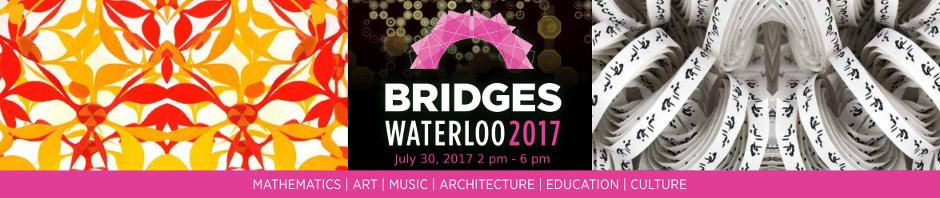 Propose a Math-Art Activity to Bridges 2017 Waterloo's