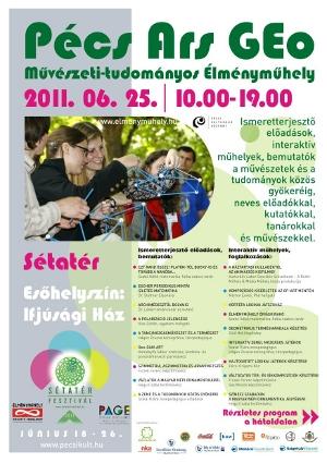 Pécs Ars GEo szórólap