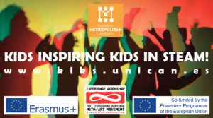 KIDS INSPIRING KIDS IN STEAM! Erasmus+