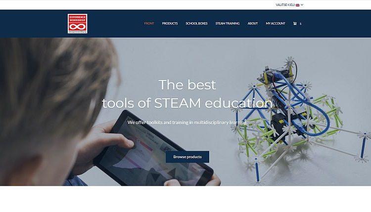 www.learningbydoing.fi címen a finn ÉlményMűhely webboltja